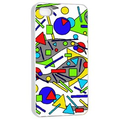 Find It Apple Iphone 4/4s Seamless Case (white) by Valentinaart