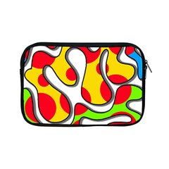 Colorful Graffiti Apple Ipad Mini Zipper Cases by Valentinaart