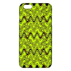 Yellow Wavey Squiggles Iphone 6 Plus/6s Plus Tpu Case by BrightVibesDesign