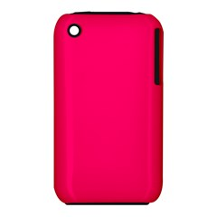 Rose Colour Apple iPhone 3G/3GS Hardshell Case (PC+Silicone) by artpics