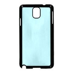 Powder Blue Colour Samsung Galaxy Note 3 Neo Hardshell Case (Black) by artpics