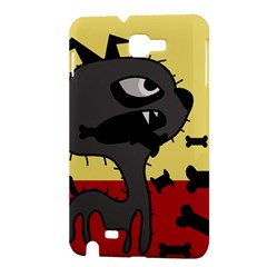 Angry little dog Samsung Galaxy Note 1 Hardshell Case