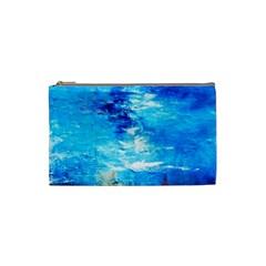 Wild sea themes art prints Cosmetic Bag (Small)  by artistpixi