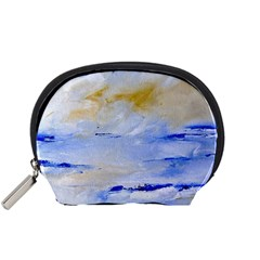 Sea sky print  Accessory Pouches (Small)  by artistpixi