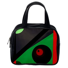 Billiard  Classic Handbags (one Side) by Valentinaart