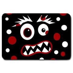 Madness  Large Doormat  by Valentinaart