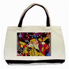 New Year Basic Tote Bag by Valentinaart