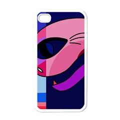 Strange Love Apple Iphone 4 Case (white) by Valentinaart