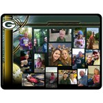 Family Birthday Blanket- Packers - Fleece Blanket (Large)