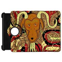 Billy Goat Kindle Fire Hd Flip 360 Case by Valentinaart