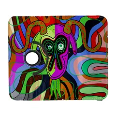 Colorful Goat Samsung Galaxy S  Iii Flip 360 Case by Valentinaart