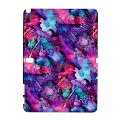 Glowing Abstract Samsung Galaxy Note 10.1 (P600) Hardshell Case by KirstenStar