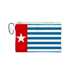 Flag of Free Papua Movement  Canvas Cosmetic Bag (S) by abbeyz71