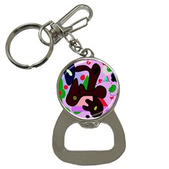 Decorative Abstraction Bottle Opener Key Chains by Valentinaart