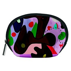 Decorative abstraction Accessory Pouches (Medium)