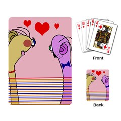 Love Playing Card by Valentinaart