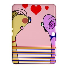 Love Samsung Galaxy Tab 4 (10 1 ) Hardshell Case  by Valentinaart