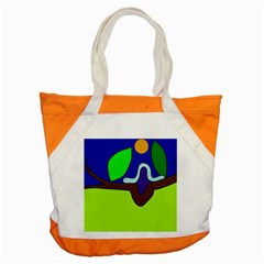 Caterpillar  Accent Tote Bag by Valentinaart