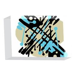 Abstract decor - Blue 4 x 6  Acrylic Photo Blocks
