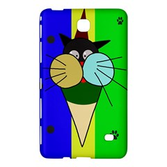 Ice Cream Cat Samsung Galaxy Tab 4 (7 ) Hardshell Case  by Valentinaart