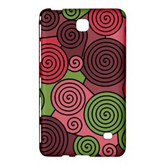 Red And Green Hypnoses Samsung Galaxy Tab 4 (8 ) Hardshell Case  by Valentinaart