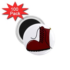 Boot 1 75  Magnets (100 Pack)  by Valentinaart