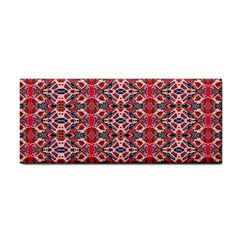 Rhomboid Pattern Hand Towel by Cveti