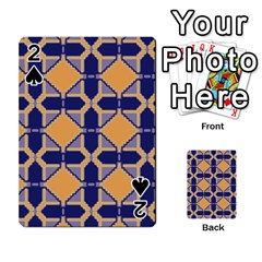 Squares   Geometric Pattern Playing Cards 54 Designs  by Cveti