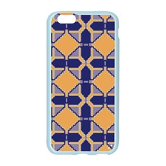 Squares   Geometric Pattern Apple Seamless iPhone 6/6S Case (Color) by Cveti