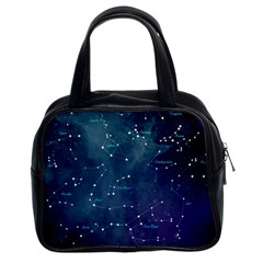 Constellations Classic Handbag (two Sides) by DanaeStudio
