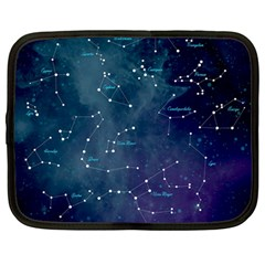 Constellations Netbook Sleeve (large) by DanaeStudio