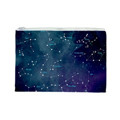 Constellations Cosmetic Bag (large) by DanaeStudio