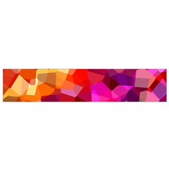 Geometric Fall Pattern Flano Scarf (small) by DanaeStudio