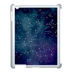 Constellations Apple Ipad 3/4 Case (white) by DanaeStudio