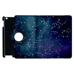 Constellations Apple Ipad 3/4 Flip 360 Case by DanaeStudio