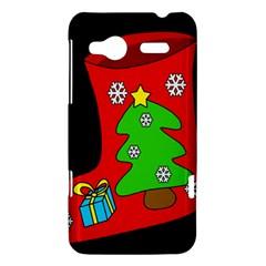 Christmas sock HTC Radar Hardshell Case