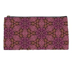 Fuchsia Abstract Shell Pattern Pencil Cases by TanyaDraws