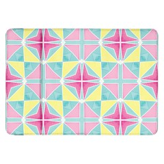 Pastel Block Tiles Pattern Samsung Galaxy Tab 8 9  P7300 Flip Case by TanyaDraws