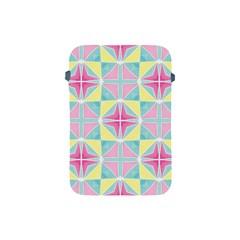 Pastel Block Tiles Pattern Apple Ipad Mini Protective Soft Cases by TanyaDraws