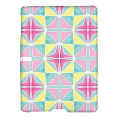 Pastel Block Tiles Pattern Samsung Galaxy Tab S (10 5 ) Hardshell Case  by TanyaDraws