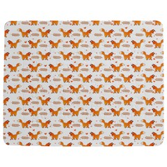 Fox and Laurel Pattern Jigsaw Puzzle Photo Stand (Rectangular)