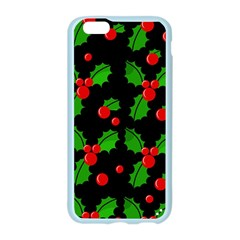 Christmas berries pattern  Apple Seamless iPhone 6/6S Case (Color) by Valentinaart