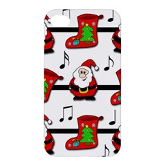 Christmas Song Apple Iphone 4/4s Hardshell Case by Valentinaart