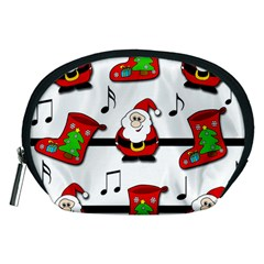 Christmas Song Accessory Pouches (medium)  by Valentinaart