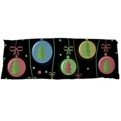 Christmas balls - pastel Body Pillow Case (Dakimakura) by Valentinaart