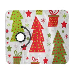 Christmas design - green and red Samsung Galaxy S  III Flip 360 Case