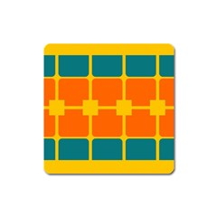 Squares And Rectangles                                                                                                			magnet (square) by LalyLauraFLM