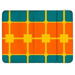 Squares And Rectangles                                                                                               			samsung Galaxy Tab 7  P1000 Flip Case by LalyLauraFLM