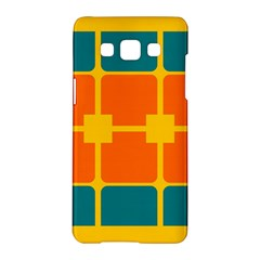 Squares And Rectangles                                                                                               			samsung Galaxy A5 Hardshell Case by LalyLauraFLM