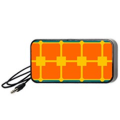 Squares And Rectangles                                                                                               Portable Speaker by LalyLauraFLM